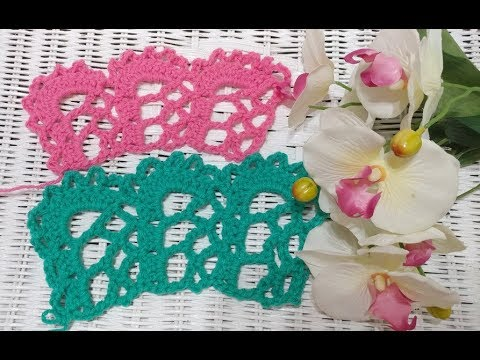 "Crochet The ""Spanish Lace"" Edging"