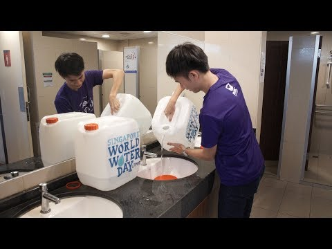 Water Rationing Exercise at NUS