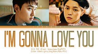 D.O. - I'm Gonna Love You (Feat. Wonstein) Lyrics (Color Coded Lyrics)