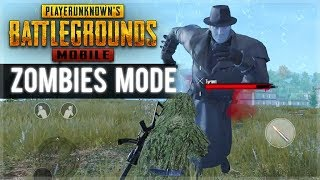 PUBG MOBILE ZOMBIES - NEW ZOMBIES GAME-MODE BOSS BATTLES! (PUBG Mobile)