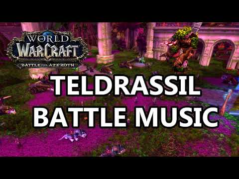 Teldrassil Battle Music - Battle for Azeroth Music