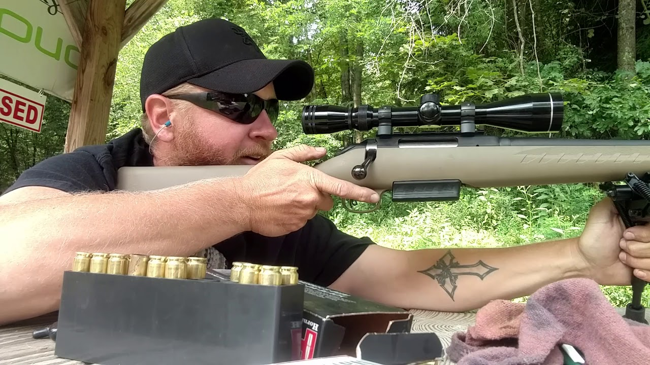 450 Bushmaster testing reloads 225 ftx and lil gun