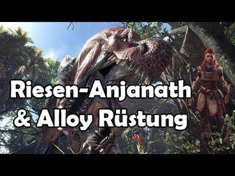 Monster Hunter World: RIESEN Anjanath & Alloy Rüstung (Eventquest) [German/Deutsch] [HD]