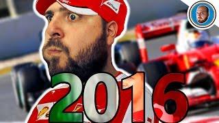 F1 2015: Vetture 2016 mod - Hamilton sclera (gopro volante)