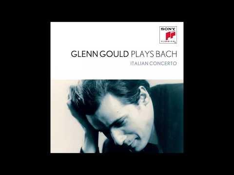 J S Bach Italian Concerto, 1st mov. BWV 971 - Glenn Gould