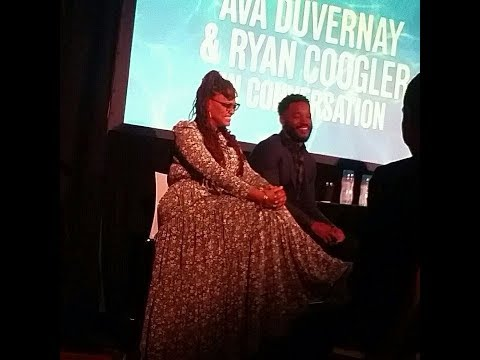 BLACK PANTHER & A WRINKLE IN TIME talk with Ryan Coogler & Ava DuVernay - November 19, 2017