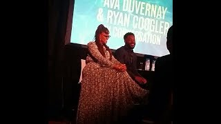 BLACK PANTHER & A WRINKLE IN TIME talk with Ryan Coogler & Ava DuVernay - November 19, 2017