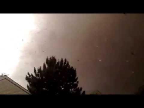 A block away from F5 Tornado! May 20, 2013 Moore Oklahoma