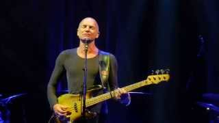 They Dance Alone - Sting - Honda Center - Anaheim CA - Feb 16, 2014