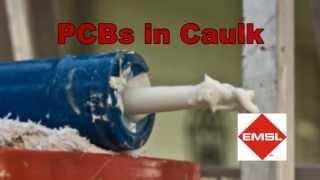 PCB Testing in Caulk by EMSL Analytical, Inc.