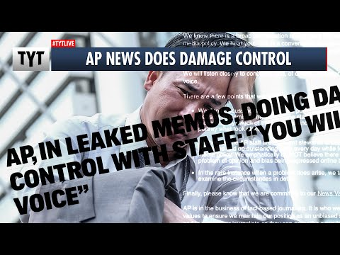 LEAKED AP Memo Shows Damage Control on Fired Reporter