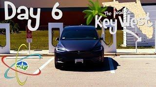 Tesla Model X: Key West Road Trip - Day 6
