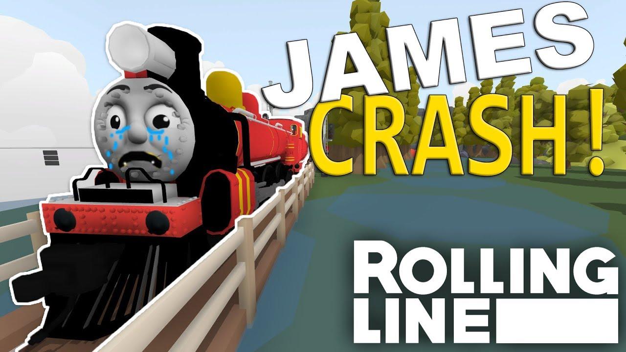 FULL SPEED CRASH! - Rolling Line VR Toy Train Simulator - Map