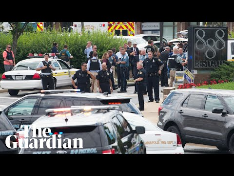 Shooting at Maryland newspaper office