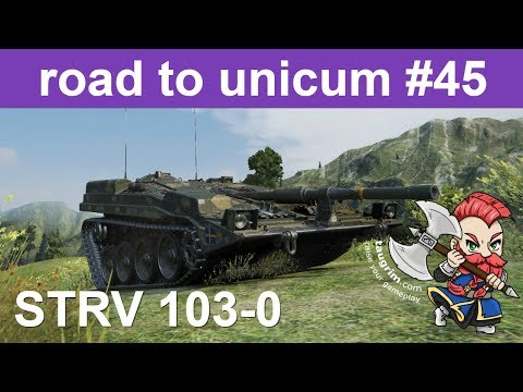 Strv 103-0 Unicum Review/Guide, Bouncing AP Shells Like a Boss
