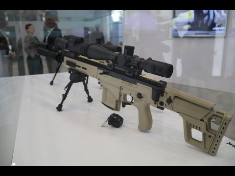 SVDM  SVK Kalashnikov Калашников sniper rifle  review interview Army 2016 Russia Russian firearms ma