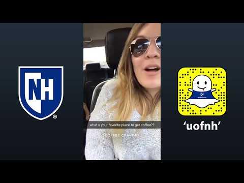 UNH Snapchat Takeover: Raina Langlois '18