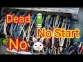Skyjack 6832rt Alternator Shorted, No Start, No Fast Idle (scissor Lift)
