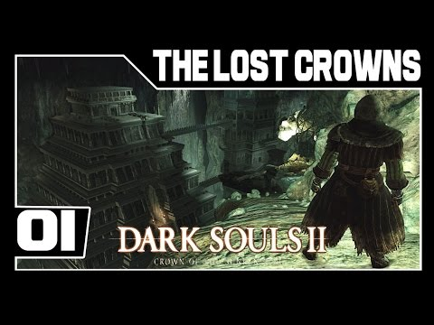 Dark Souls 2: Crown of the Sunken King DLC Part 1 - Olá Morte!