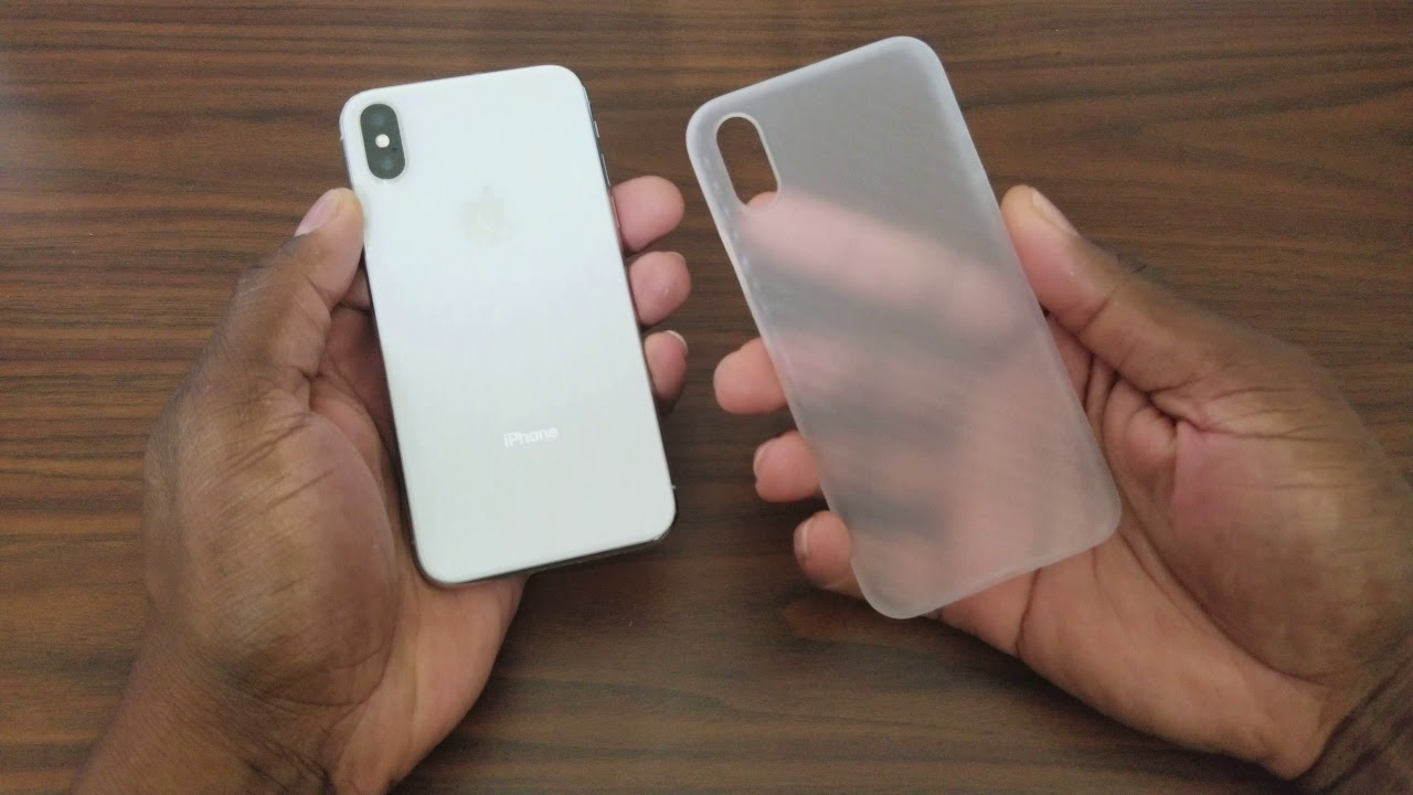 sports shoes 52584 65d4a iPhone X Ultra thin Carbon Fiber Case! | $1 on eBay - YouTube