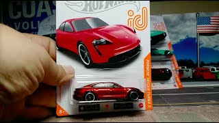 Hot Wheels Porsche Taycan Turbo S ID Chase and My Complete ID Chase Collection