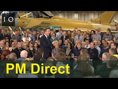 PM Direct at BAE Systems: Go out and vote