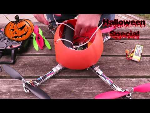 Pumpkin Drone Build - HALLOWEEN Idea ;-)