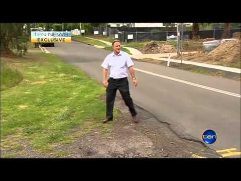 Ten News Sydney - Residents concern over NWRL Cherrybrook Interchange Station (14/12/2012)