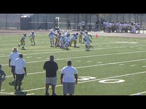 LA Rams Edward Rivera Jr  vs  Compton Seahawks/So Cal Trojans 10U