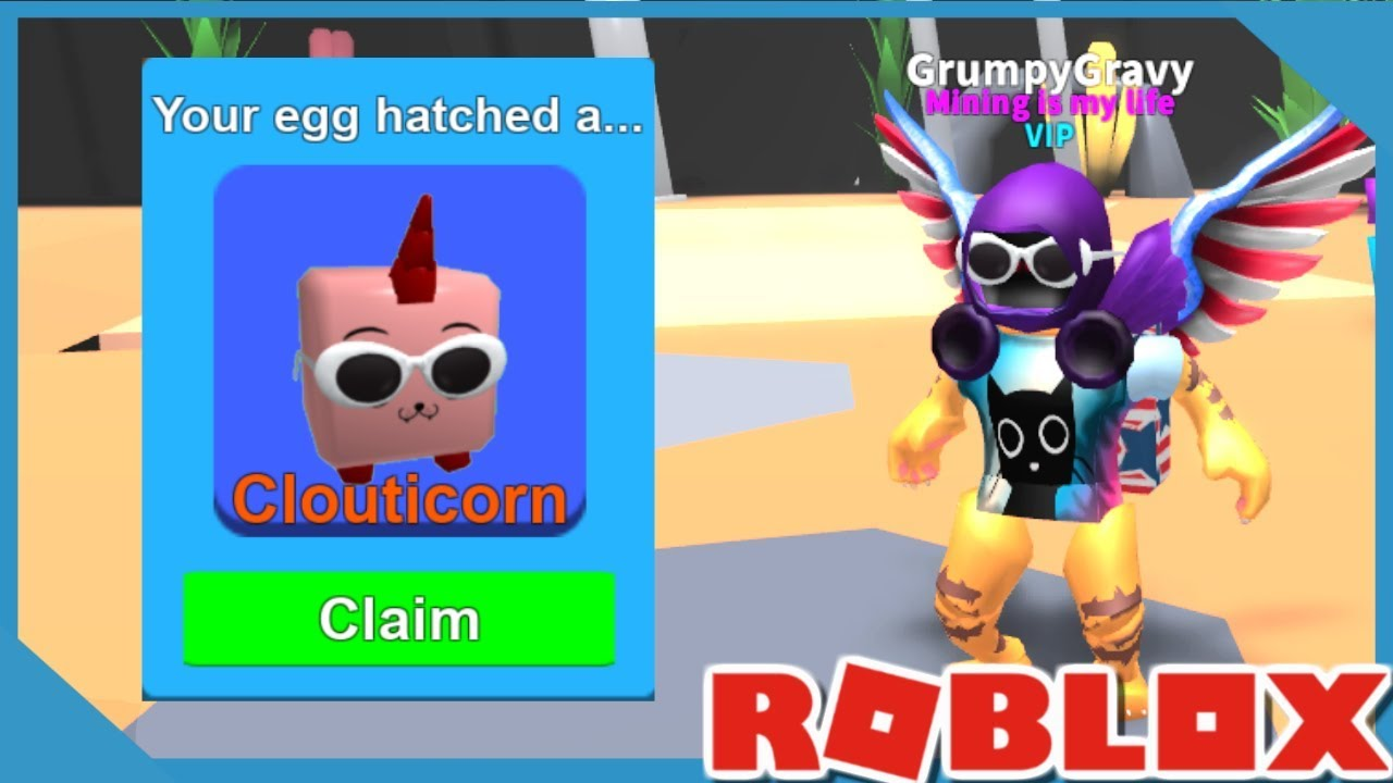How To Equip Egg In Roblox Mining Simulator Xbox One