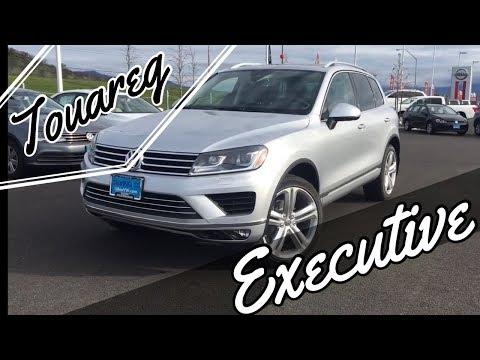 2017 Volkswagen Touareg Executive 4Motion
