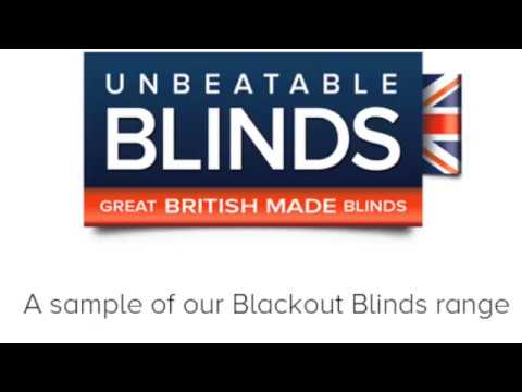 Blackout Blinds UK from Unbeatable Blinds