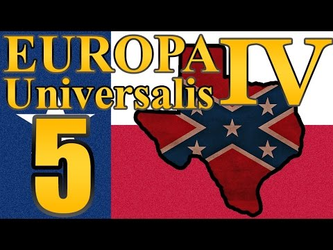 "Europa Universalis 4 Texas ""The Cursor is Back!""  EP:5 [Super States Mod]"