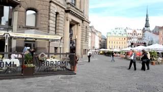 アキーラさん訪問!ラトヴィア・リガ・ドゥアマ広場1,Old-city,Riga,Latvia