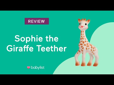 Sophie The Giraffe Teether Review