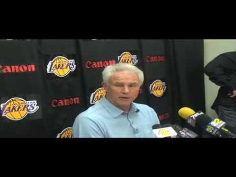 Lakers General Manager Mitch Kupchak on 2010 NBA Draft