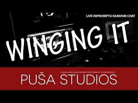 Puša Studios Winging it Live: How goes it?