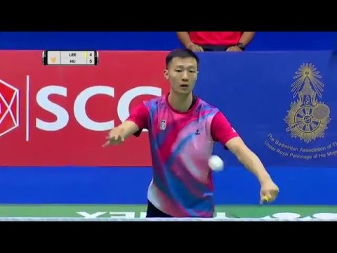 Princess Sirivannavari Thailand Masters 2016 | Badminton F M3-MS | Lee Hyun Il vs Hu Yun