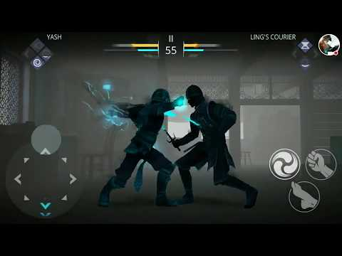 Shadow Fight 3 vs Ling's couriers
