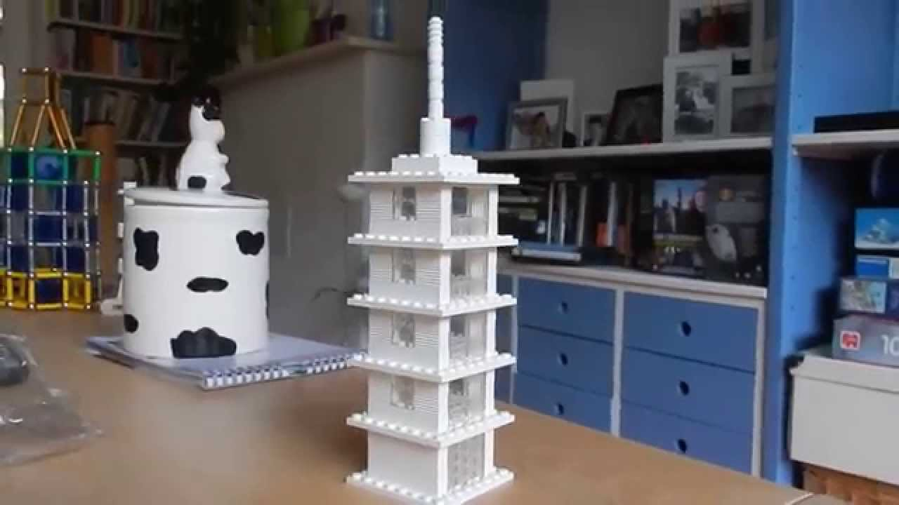 Lego Architecture Studio: My second creation, a tower ...