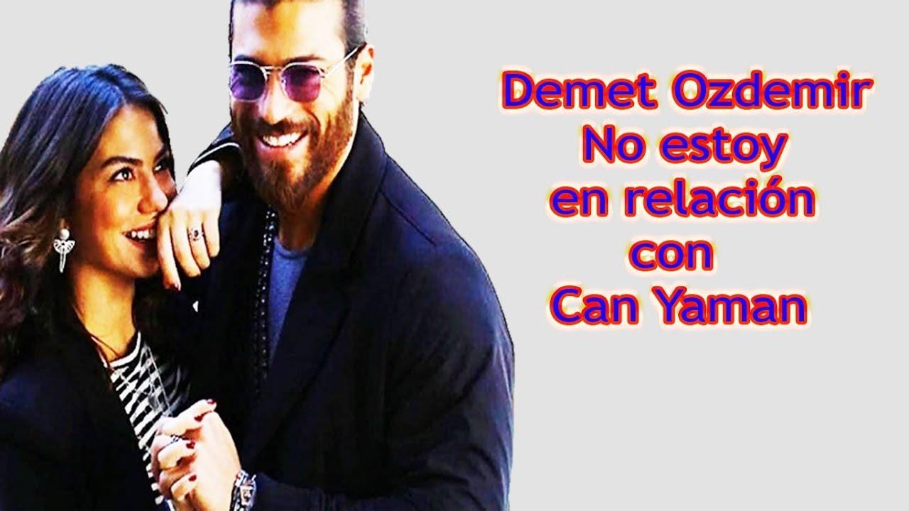 Demet Ozdemir: No estoy en relación con Can Yaman !!!
