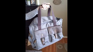 Wowbox Canvas Duffle Bag (Gray)- Product Review