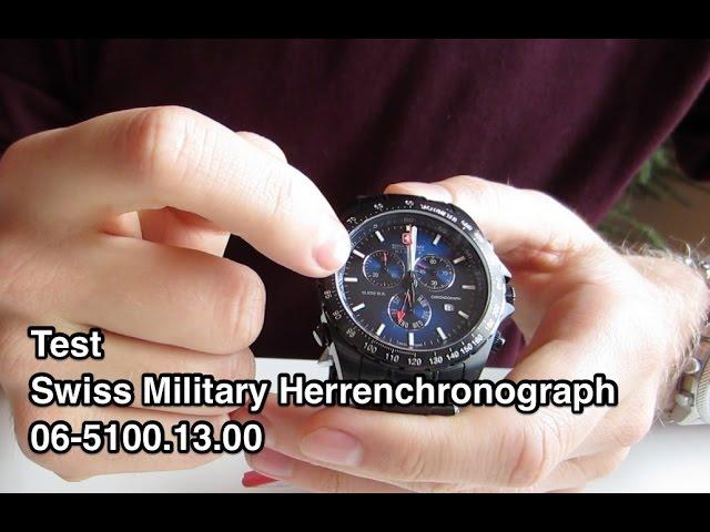 Test Swiss Military 5100 Uhr 06-5100.13.013