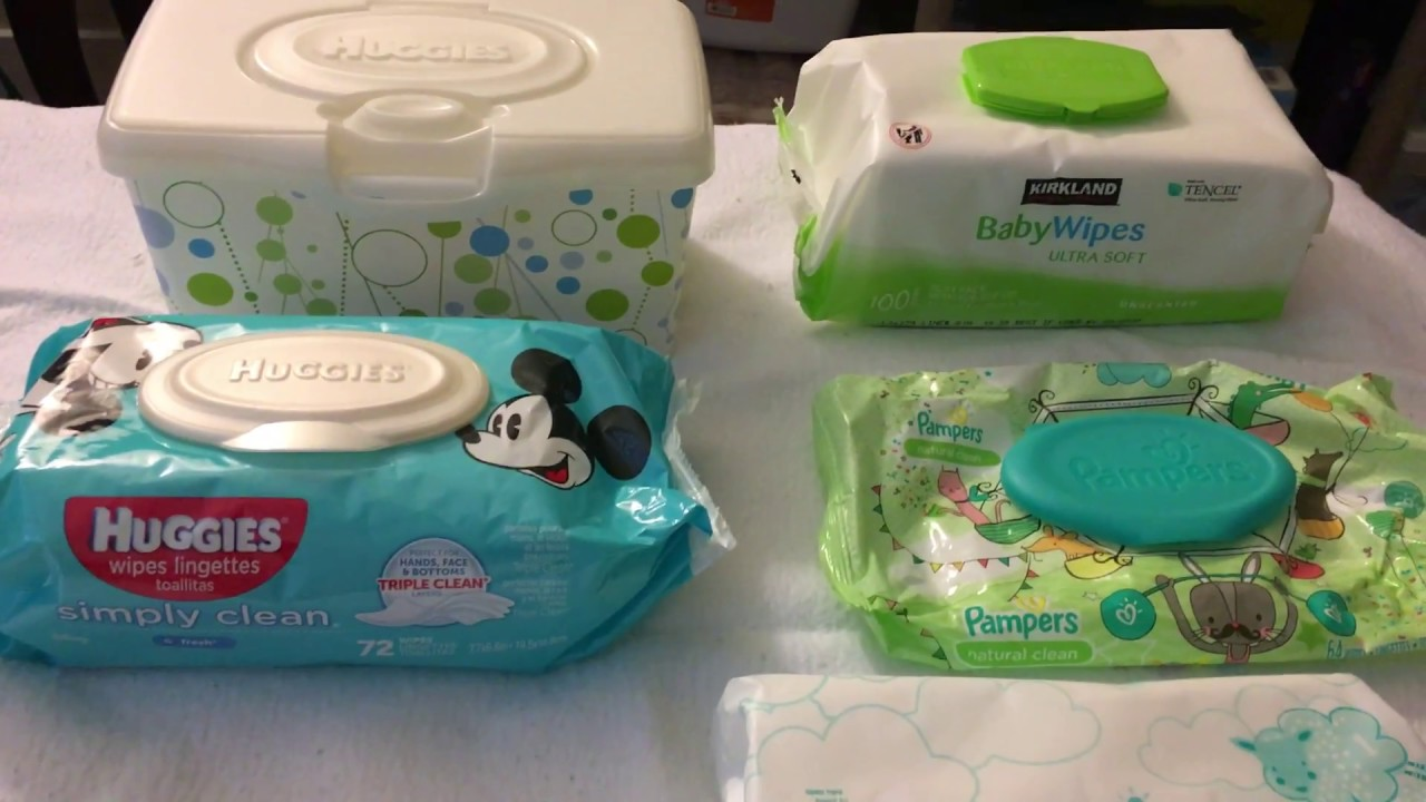 Baby Wipes Review Which Brands Huggies Pampers Kirkland