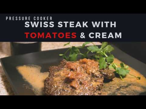 Swiss Steak with Tomatoes and Cream