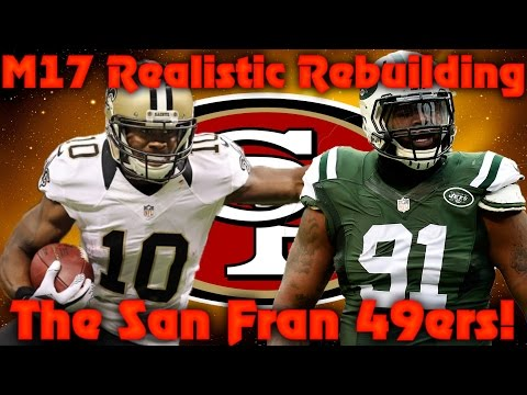 Madden 17 Franchise | Realistic Rebuild of The San Francisco 49ers! 96 Speed 6