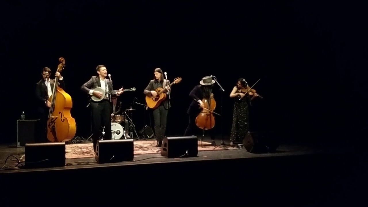The Avett Brothers Laundry Room I Wish I Was 1 24 18 Florence Gould Theater New York