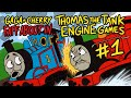 Thomas the Tank Engine Games Part 1 - Gaga and Cherry Faff About In