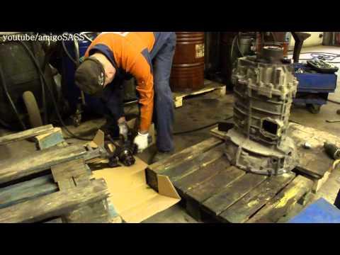 Разборка и сборка коробки ZF 6S100 VOLVO FL Gearbox Disassembly