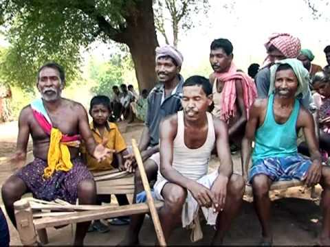 Life of Tribals in Sundargarh, Orissa, India (Struggle for Land Rights) - Part 1/3